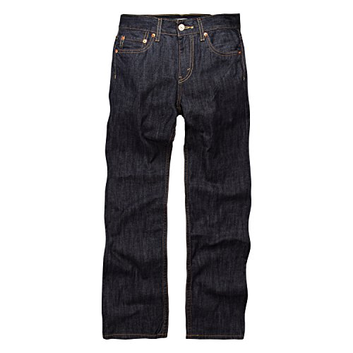 Levi's Boys' Big 514 Straight Fit Jeans, Ice Cap, 16