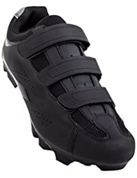 2d55f2e229 Montagna 100 Men s Mountain Bike MTB Spin Cycling Shoe Compatible with SPD  Cleats Black