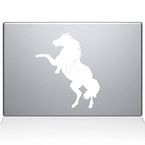 早い者勝ち The Decal Guru 0158-MAC-13X-W B0788MCLSW Bucking Horse White The Vinyl Sticker 13 Macbook Pro (2016 & newer) White [並行輸入品] B0788MCLSW, 釣人館ますだ:cd265319 --- a0267596.xsph.ru