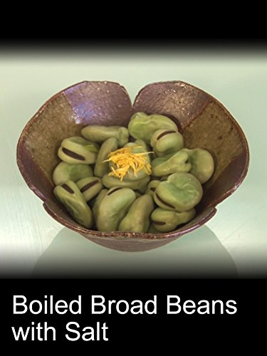 Boiled Broad Beans with Salt
