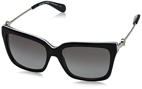 Michael Kors Abela I Square Sunglasses Black White