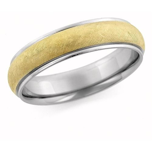 Textured Comfort Fit Wedding Band (Textured Comfort Fit Wedding Band)