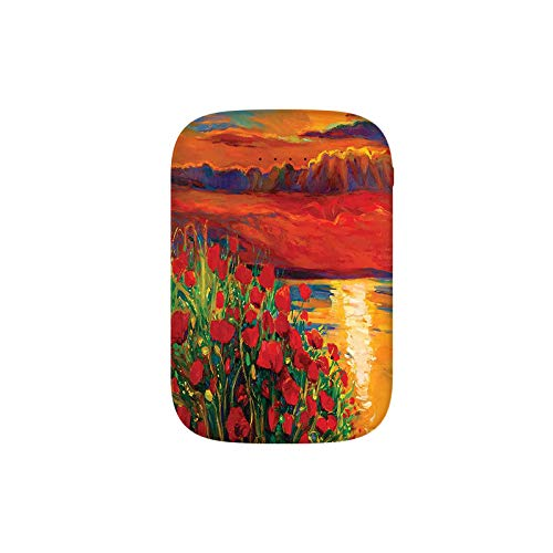 Oil Painting View Stone Stairs in The Greek Garden Greenery Forest Picture Portable Charger 10000mAh Power Bank External Battery Backup Pack Fast Charger for iPhone,Samsung Galaxy and More