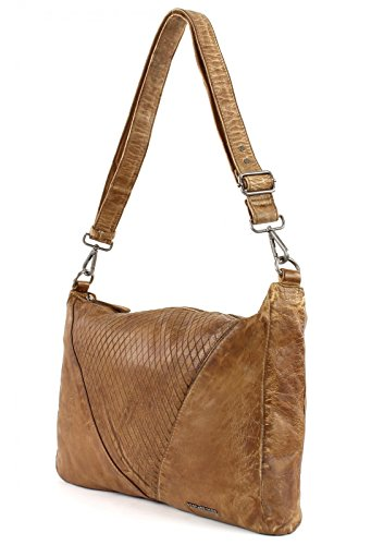 FredsBruder Arrow unique Schultertasche brown_camel x