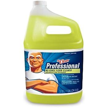 Amazon Com Mr Clean 1 Gallon No Rinse Floor Cleaner
