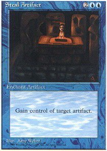 Magic: the Gathering - Steal Artifact - Fourth Edition