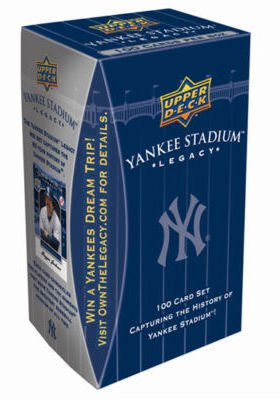 Upper Deck MLB New York Yankees Yankee Stadium Legacy 100 Card Set