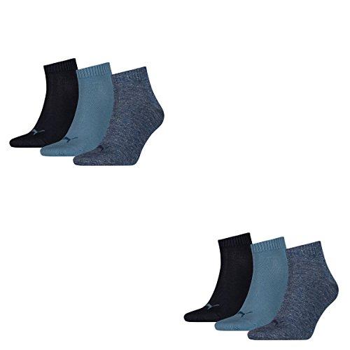 Chaussettes 251015 Plain Sport Puma lot Bleu De quarter Homme Blue 3 3p denim dZqWWSIH