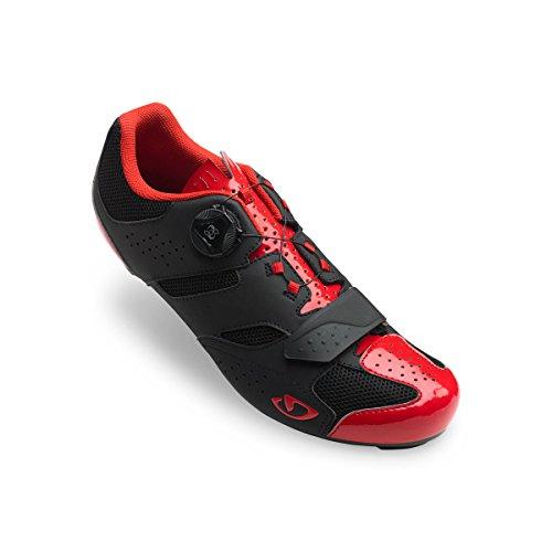 Giro Savix Rennrad Fahrrad Schuhe schwarz/rot 2018