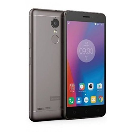 Lenovo K6 Note 4G LTE Octa Core Fingerprint 32GB 16MP 3GB Ram Dual Sim International Version (Grey) (Mobile Lenovo)