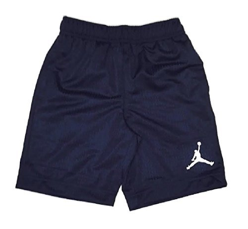 Little Boys Jordan Mesh Athletic Shorts Obsidian Size 6 Jordan Embroidered Shorts