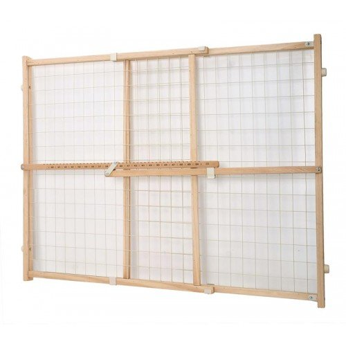 Dogit 70624 Wire Mesh Pet Safety Gate, 29.5-50