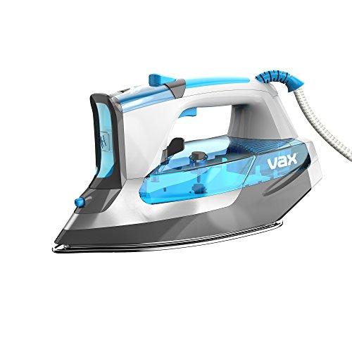 Vax ICC4V1HP Power Shot Digital 300 Steam Iron, 2600 W, White/Silver/Blue