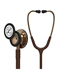 3M Littmann  Classic III Monitoring Stethoscope, Copper-Finish Chestpiece, Chocolate Tube, 27 inch, 5809
