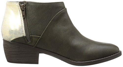 Union BC Footwear Damen Goldfarben Olivgrün q1BS75H1