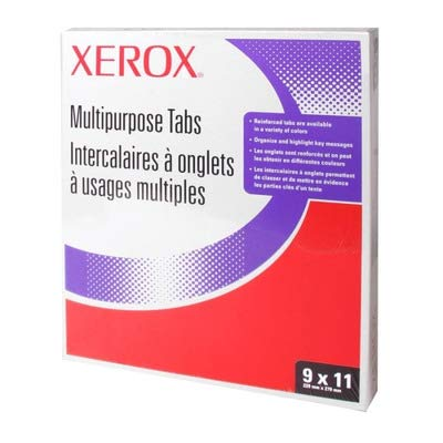 XER3R4417 - Xerox Straight Collated Copier Tabs