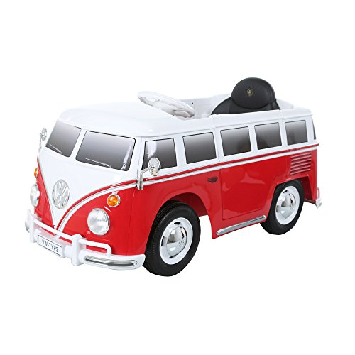 6V VW Volkswagen Bus Battery Powered Ride On Kids Car Toy Wh