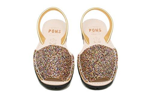 Pons 510g - Avarca Klassieke Stijl Glitter Multicolor