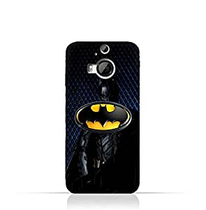 HTC One M9 Plus TPU Silicone Protective Case with Batman Design