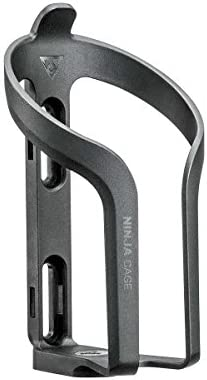 Topeak Ninja Cage with Rubber Strap to Mount On Upper Position of Frame with O Tire Levers