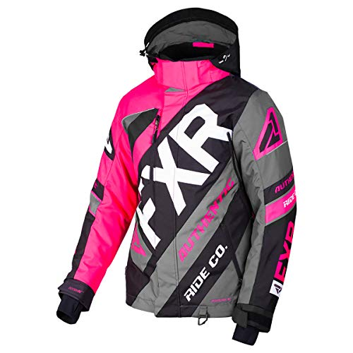 FXR CX Women's Jacket - Fuchsia/Black/Charcoal - MED (8)
