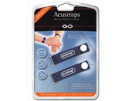Nausées Acustraps - Bands mal de mer poignet