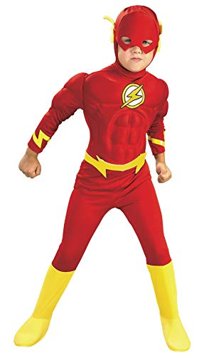 Rubie's DC Comics Deluxe Muscle Chest The Flash Costume