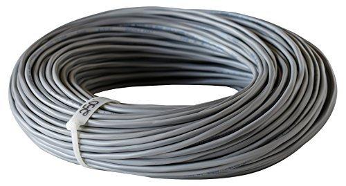 West Penn Wire 224 18/2 Commercial Audio Speaker Cable (250 Feet Grey) [並行輸入品]   B07898ZC82