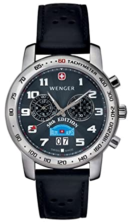 Wenger Mens 70804 Alpine Swiss Rallye Commemorative 50th Edition Watch