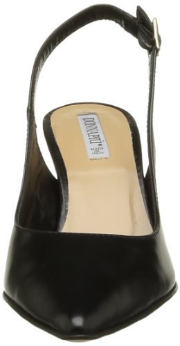 Donna Piu Maty - Zapatos de Vestir de cuero mujer negro - Noir (Abrasivato Nero)