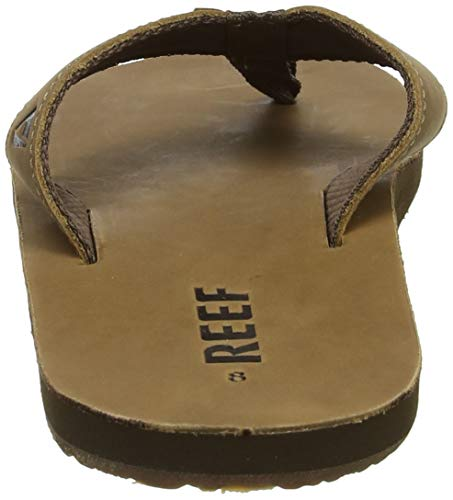 Homme Marron bronze Smoothy Tongs Reef Brown BxaEgqw