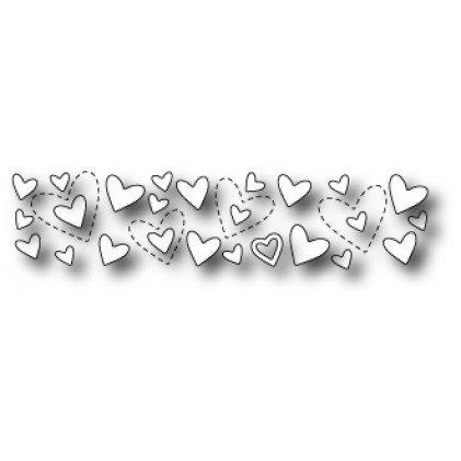 Shimmering Heart (Poppy Die ~ Shimmering Heart Border)