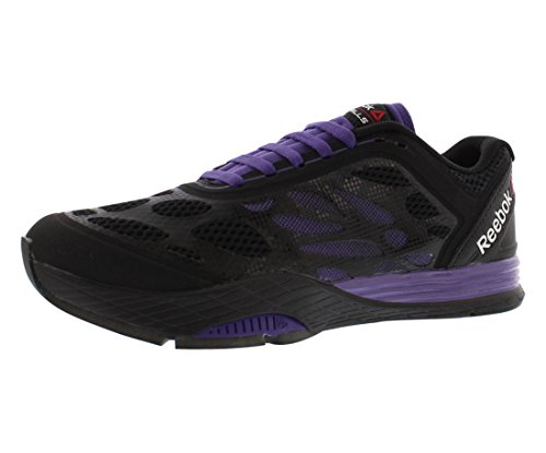 76c9cc51549 Galleon - Reebok Womens Studio LM Les Mills Cardio Ultra Dance Shoes In  Black Violet Size 9.5