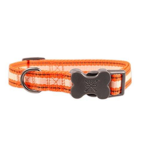 Bow Collar Reflective Stitching Orange product image