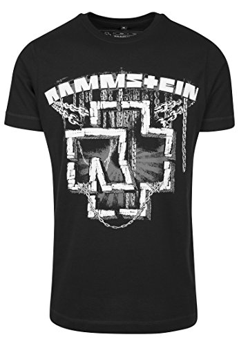 8bc07c13e19e Rammstein Mens T-Shirt RS001 Rammstein In Ketten Tee Color  black in Size