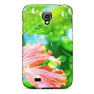 Hot New Flower Jpg Case Cover For Galaxy S4 With Perfect Design