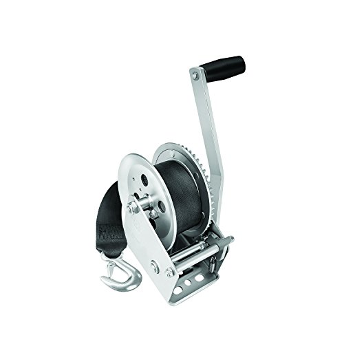 Fulton 142305 Single Speed Winch with 20' Strap-1800 lbs. Capacity