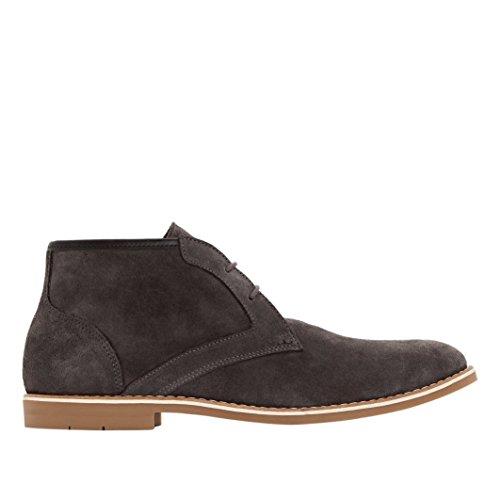 Uomo con Grigio Pelle Boots La Lacci in Redoute Collections gwqvxRfp