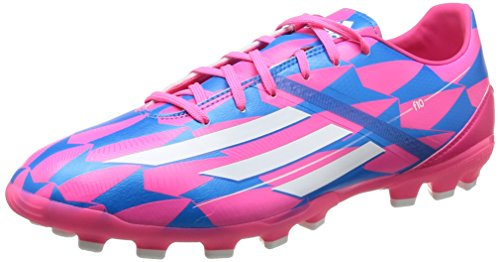 adidas F10 Ag, Men Shoes Mehrfarbig - Sopink/CBlanc/SolBleu