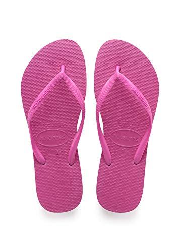 (Havaianas Women's Slim Flip Flop Sandal, Hollywood Rose 39/40 BR (9-10 M US))
