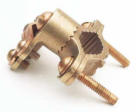 Burndy C22HD4/0DB Cast Bronze Ground Clamp 1-1/4 - 2 Inch 8-4/0 AWG