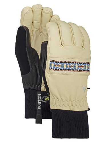 Glove Womens Burton Snowboard (Burton Women's Waterproof, Breathable, Insulated Free Range Glove, Canvas W18, Large)