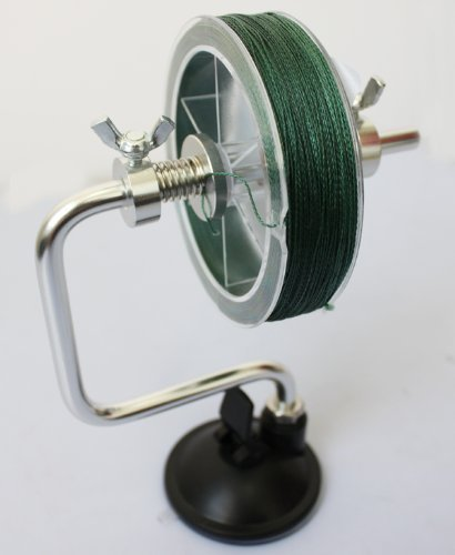 Fishing Line Reel Spool Spooler System Tackle Accessory Silver Fishing Tool Gear And Accessories