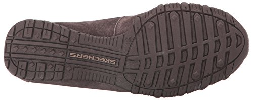 Chocolate Relaxed basso Suede Skechers Donna collo a Scarpe Bikers Pedestrian q77vZwHU