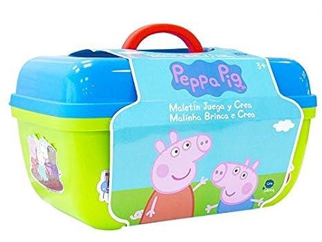 Peppa Pig Maletín Juega y Crea CIFE