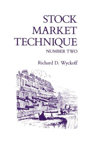 Stock Market Technique, No. 2 (Fraser Publishing Library)