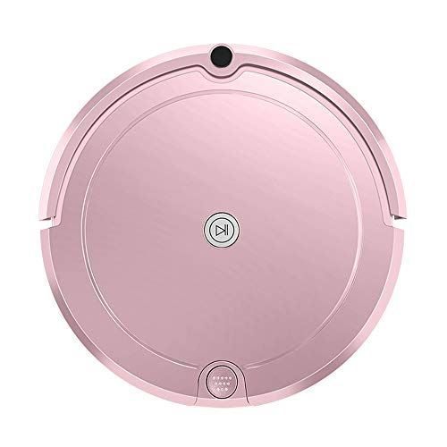 FENGRUI FR-E701 Robot Vacuum Cleaner with Water Tank Mop Cost-Effective Automatic Remote Control for Pet Hair Carpets Hard Floor Low Noise Surfaces 12.7x13x3.34 Inches Pink Review