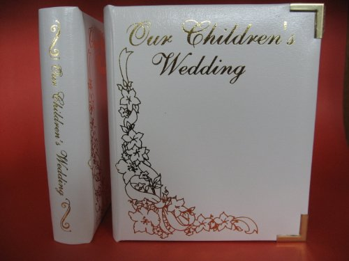 "Leather ""Our Childrens Wedding"" DVD / Cd Album Double Disc Holder"