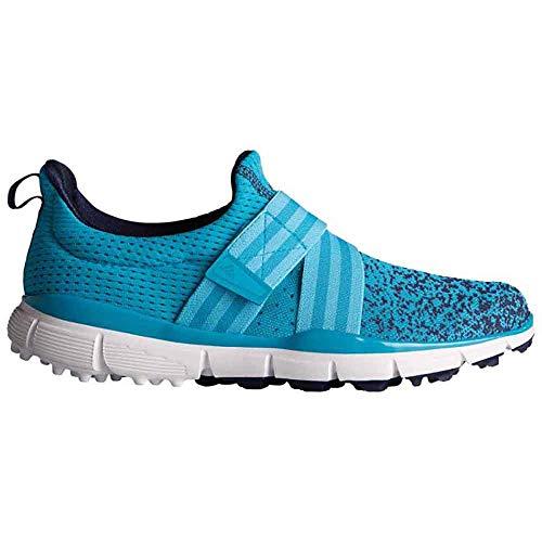adidas Women's Climacool Knit Golf Shoe, Energy Blue, 6.5 M US