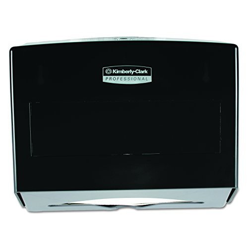 Kimberly-Clark Professional 09215 Scottfold Towel Dispenser, Plastic, 10 3/4w x 4 3/4d x 9h, Smoke Kimberly Clark Paper Dispenser